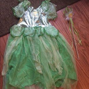 Tinker Bell Costume girls size 2/4t